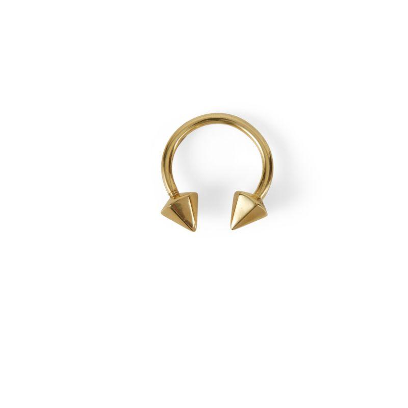 Septum Ring Screw On – Gold image