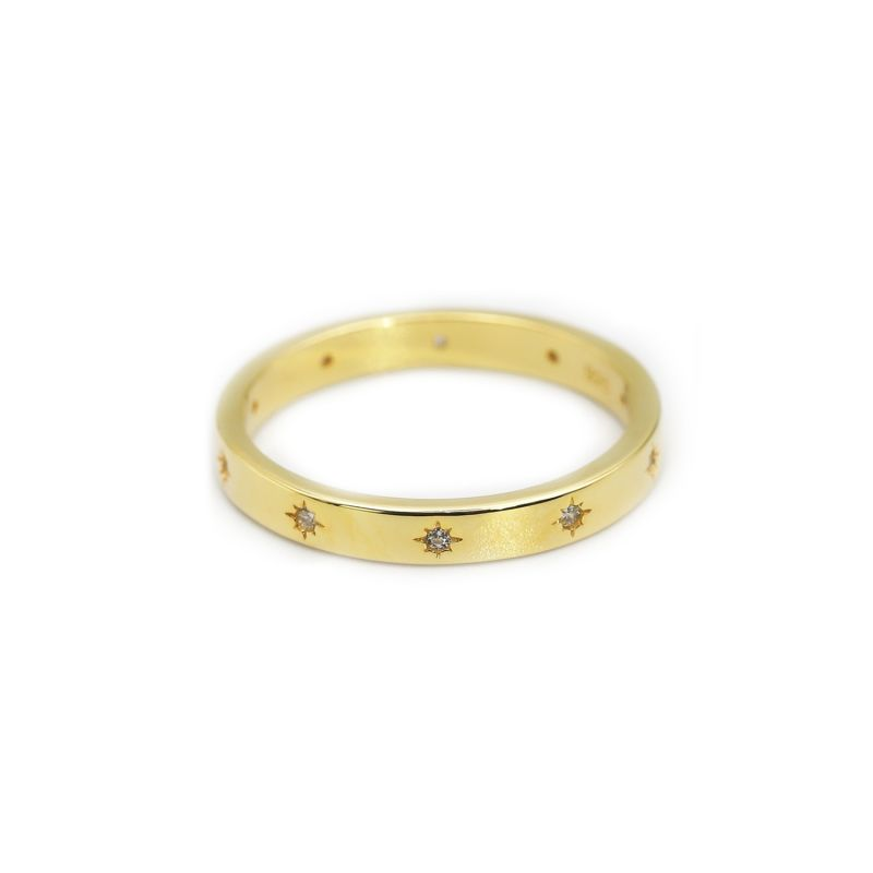 Astra Ring In 18k Gold image