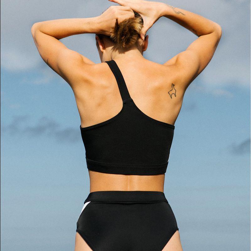 Byron One Shoulder Top Eco Swim image