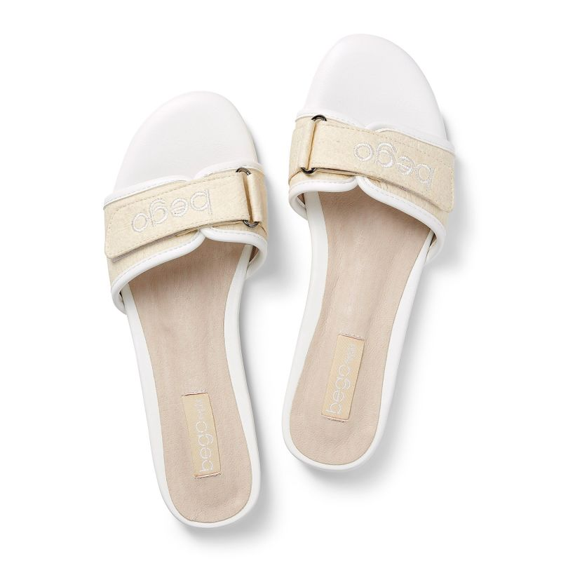 Lex Sandal In Natural - Pineapple Leather image