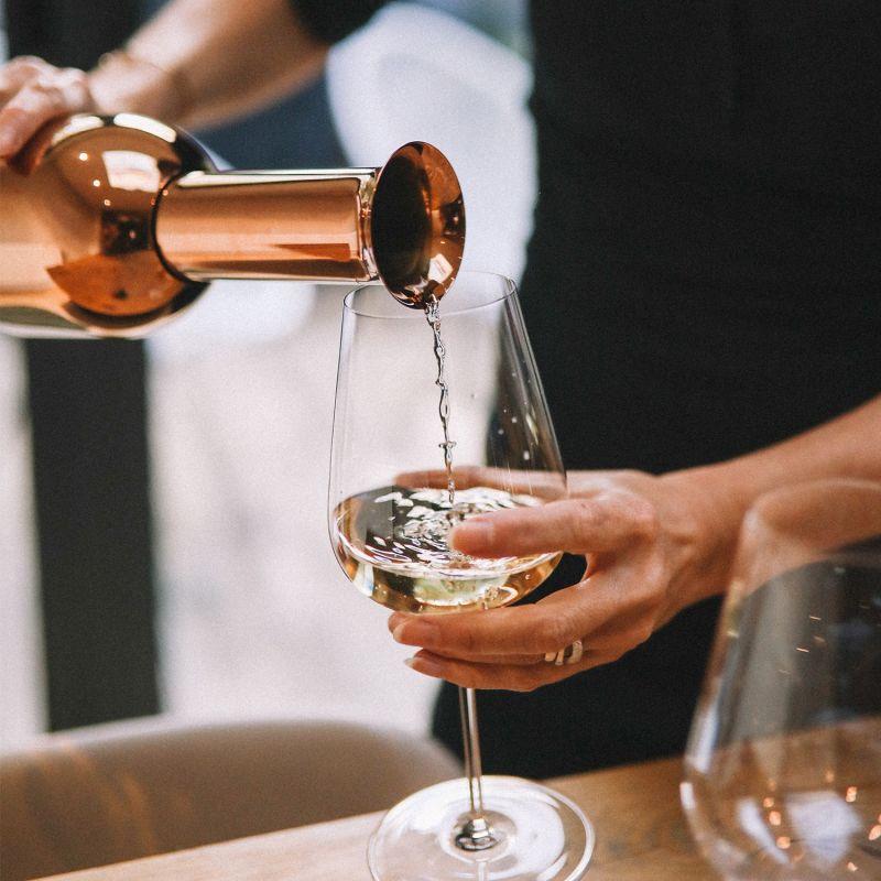Eto: Copper Mirror Finish Wine Decanter image