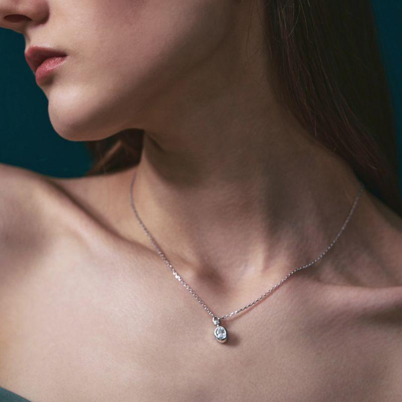 Grasse Oval Cut Necklace image