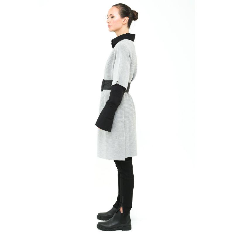 Dee Batwing Knit Dress - Grey Marle image