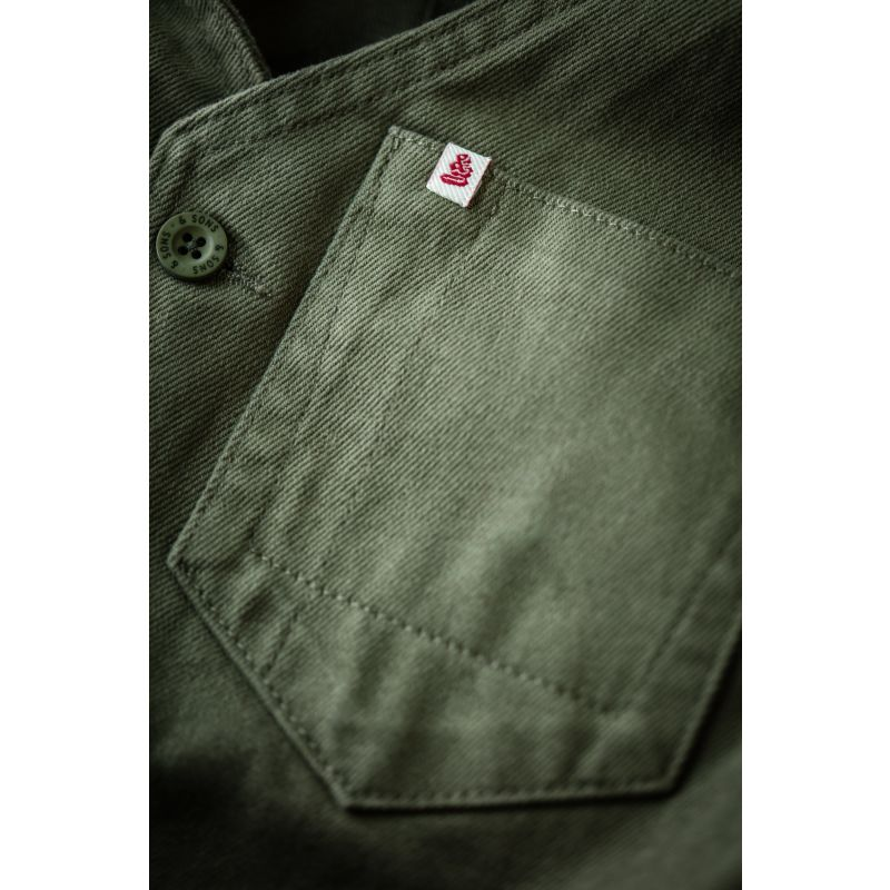 &Sons Lincoln Waistcoat Army Green image