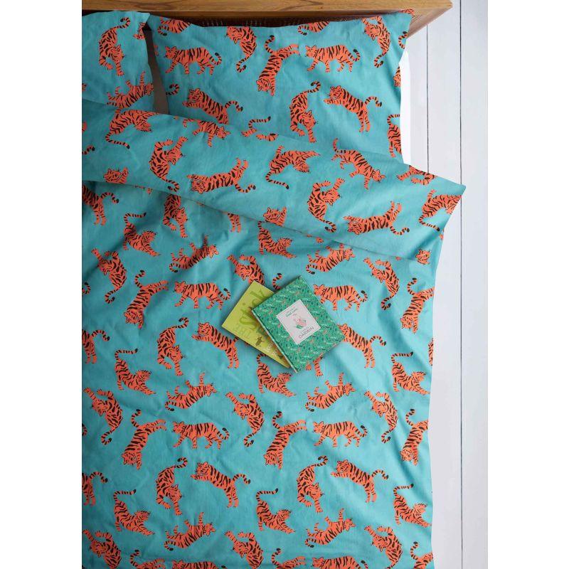 Tigers Organic Cotton Single Duvet Set image