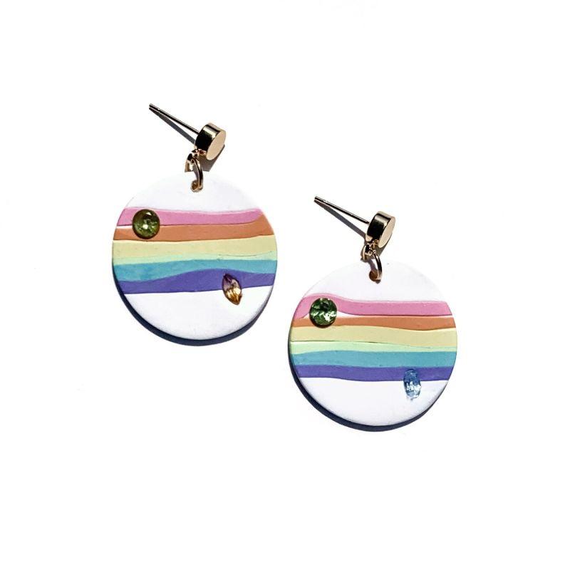 Rainbow Prism Dangle With Brilliants image