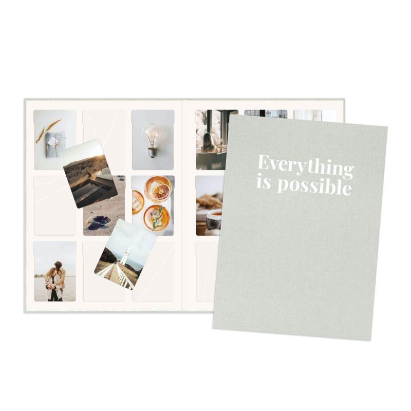 Vision Board Reimagined™ - Classic Grey Covers + 100 Photos image