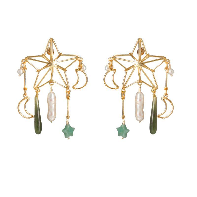 Flying Star Earrings image