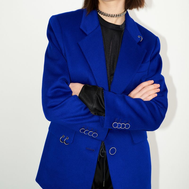 Back To Classic Tailored Jacket Cobalt Blue image