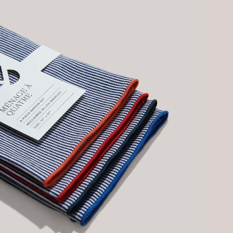 Americana Stripe Napkins - Set Of 4 image