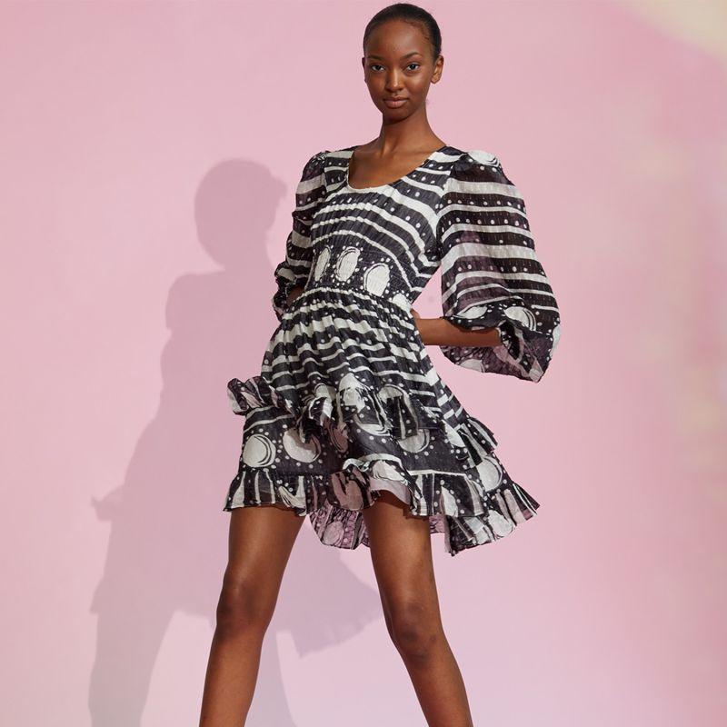 Sicily Smocked Waist Dress image
