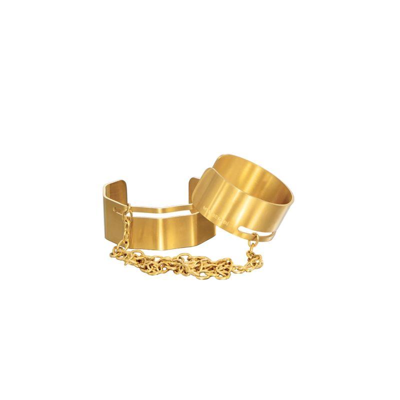 Handschellen - Gold image
