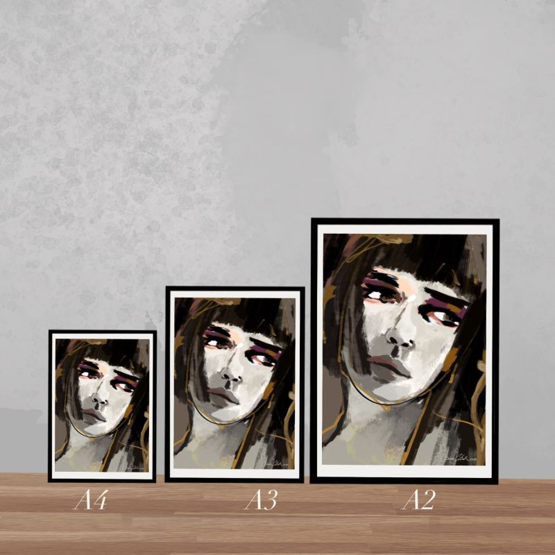 Glance Giclée Art Print image