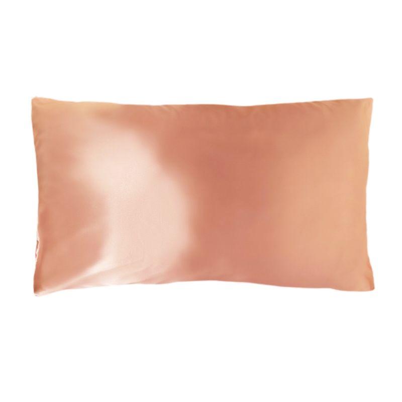 King Organic Silk Pillowcase - Rose Gold image