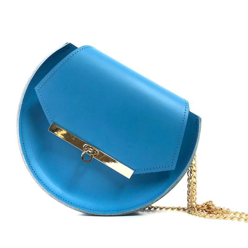 Loel Military Bee Circle Bag In Nebulas Blue image