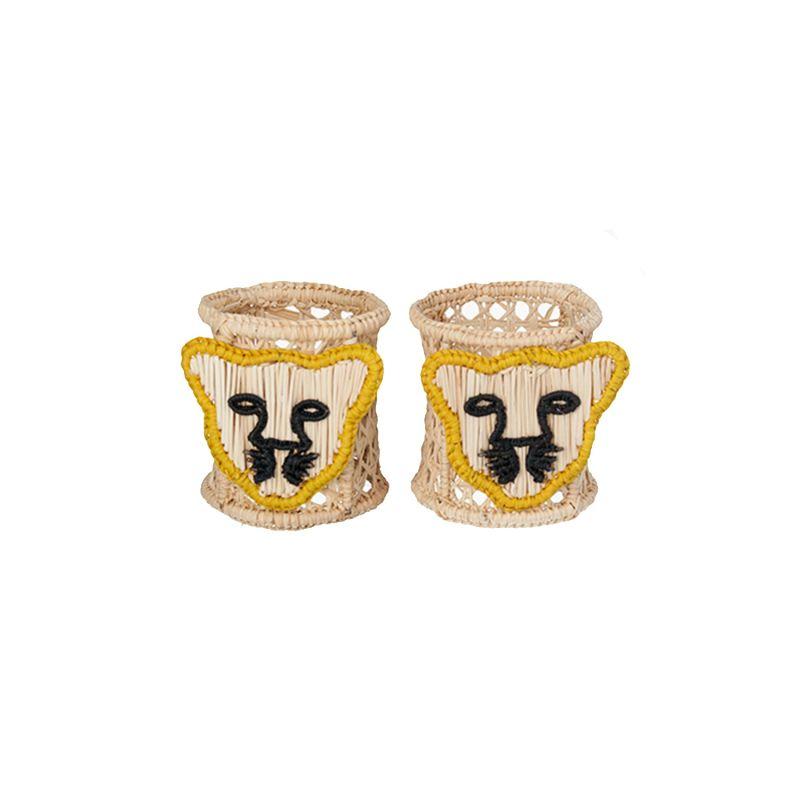 Jaguar Napkin Ring Set Of 2 image