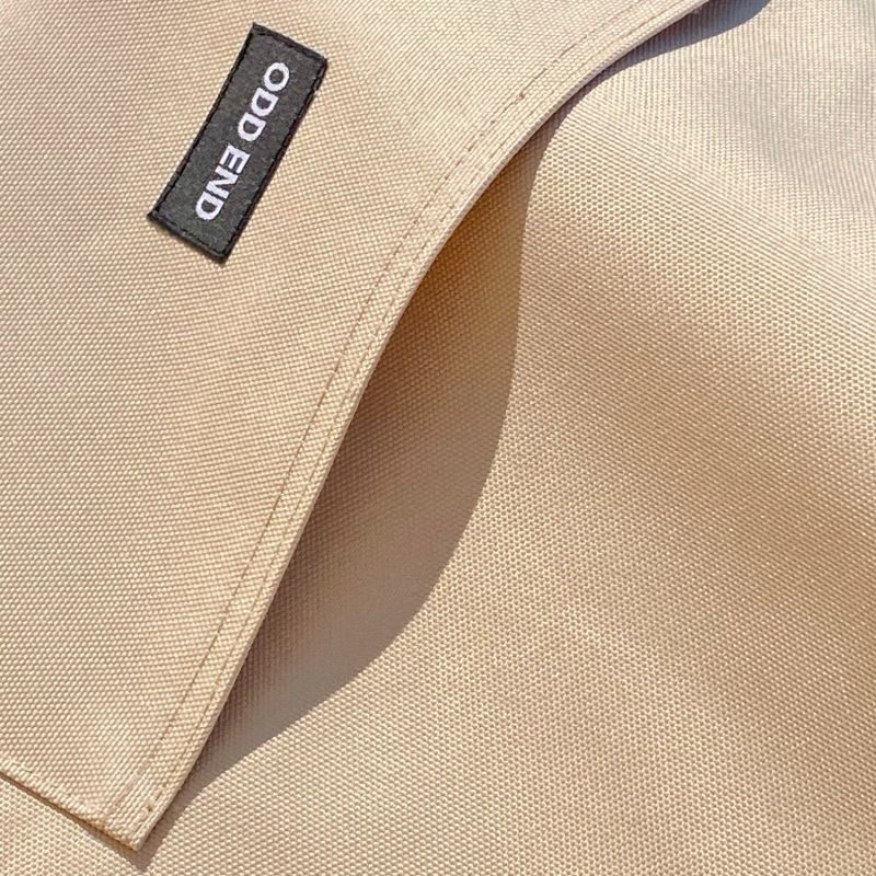 Tall Upcycled Tote Bag - Men's - Beige image