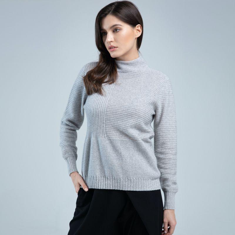 Knitted Turtleneck Cashmere Jumper image