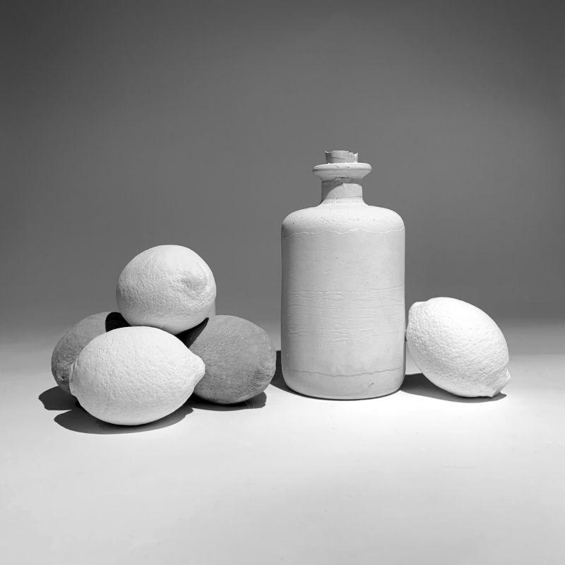 Ornamental Concrete Lemon White image