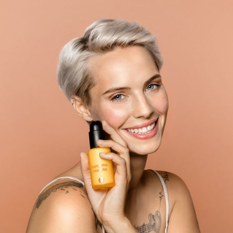 Multitasking Facial Cream - Curcuma Matata image
