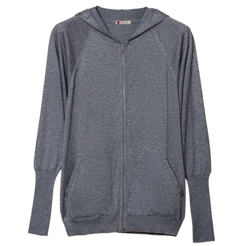 Hoodie Sweatshirt Pure Cashmere and Cotton image