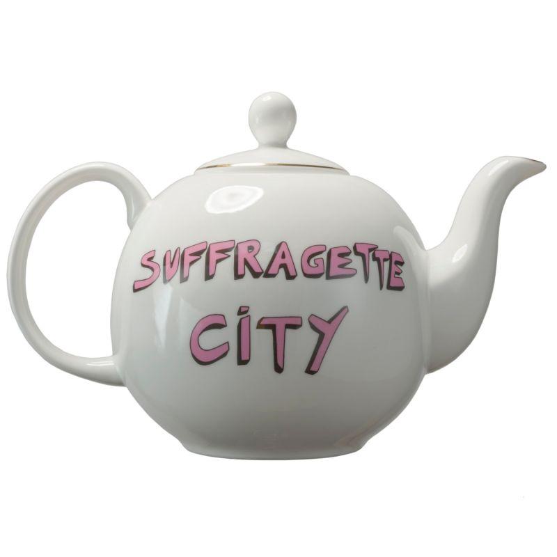 Suffragette City Tea Pot image