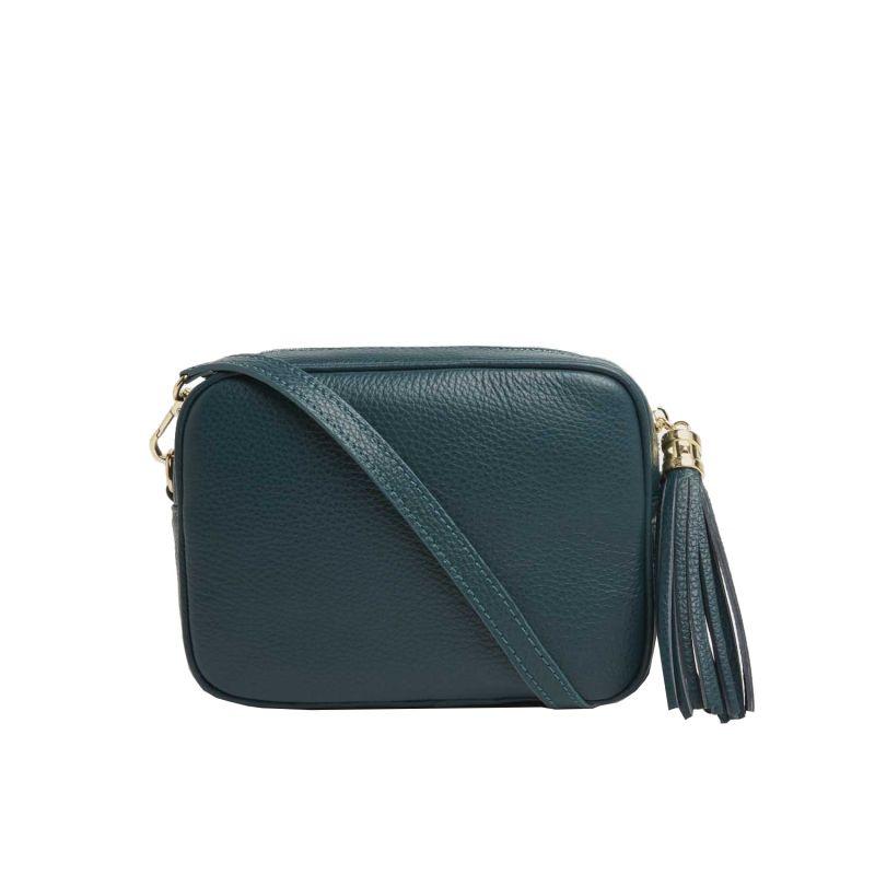 Verona Crossbody Tassel Bag in Dark Teal image