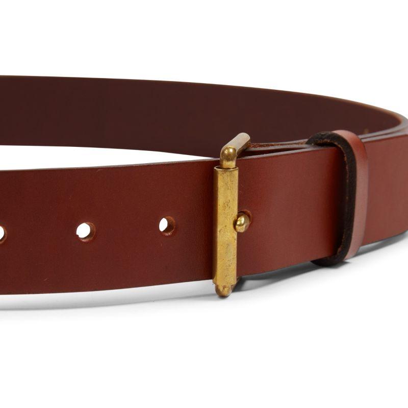 Bridle Leather Belt - Tan image
