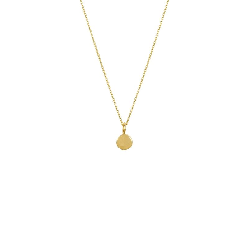 9ct Gold Dot Necklace image