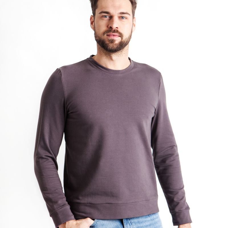 Soft Sweater For Hugging Him - Cappuccino image