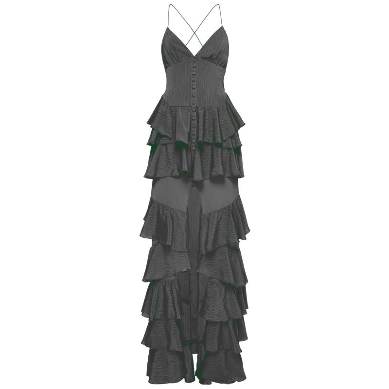 Barcelona Maxi Dress Black image