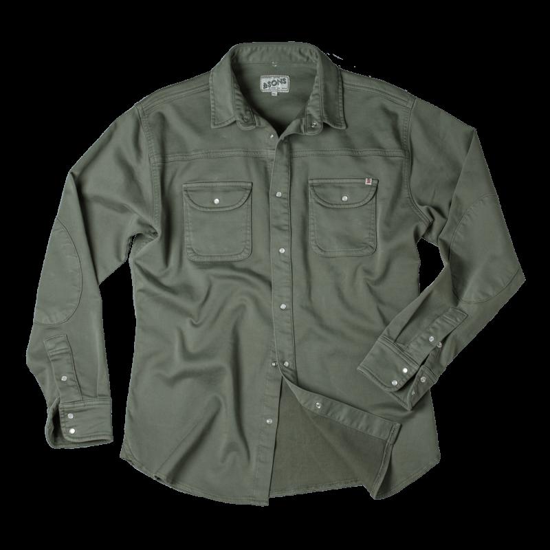 &Sons Sunday Shirt Army Green image