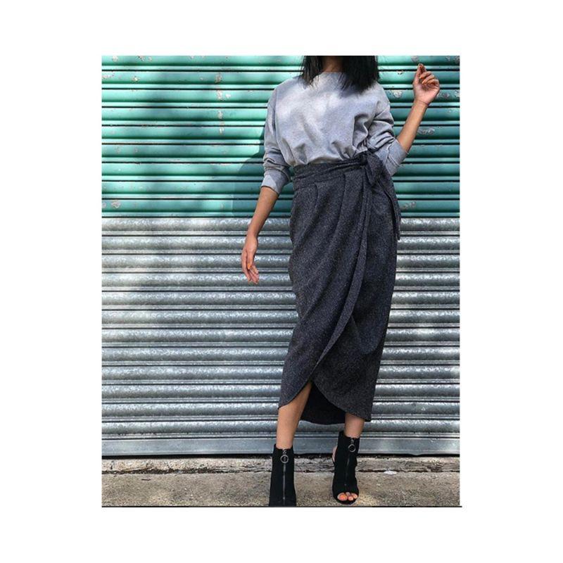 Blake Grey Tulip Skirt image