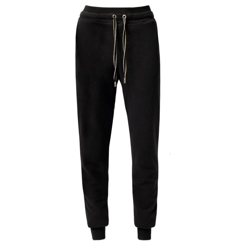 Casual Black Joggers Decorative Strings image