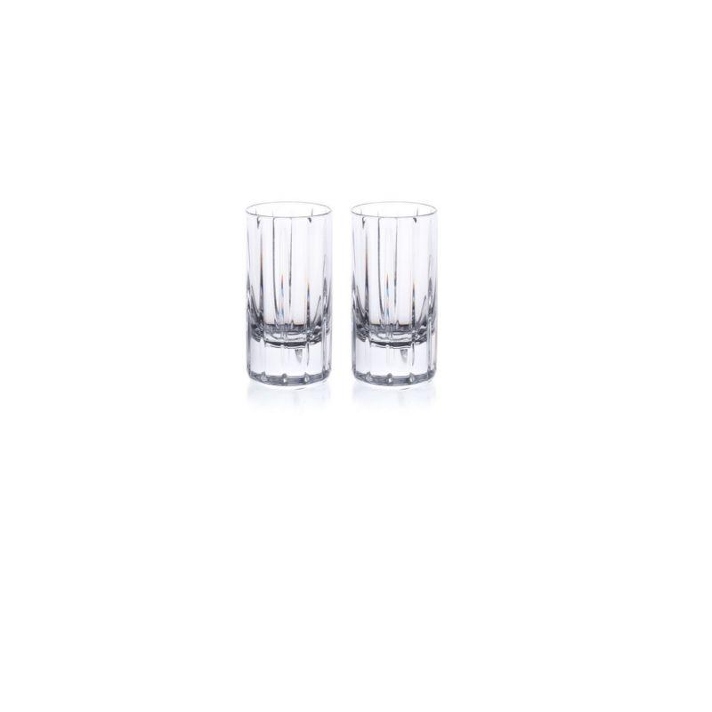 Pair Of Crystal Vodka Shot Glasses image