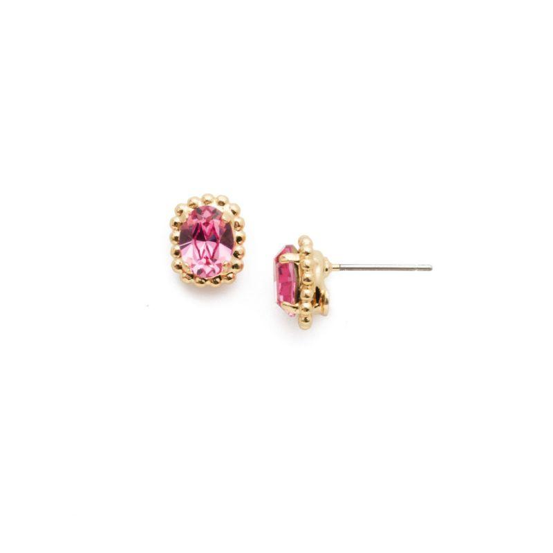Maisie Stud Earrings - Begonia image