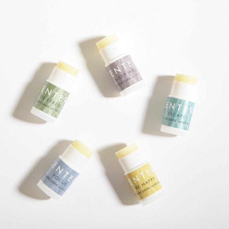 Wellbeing Ritual Aromatherapy Mini Balms In Tin image