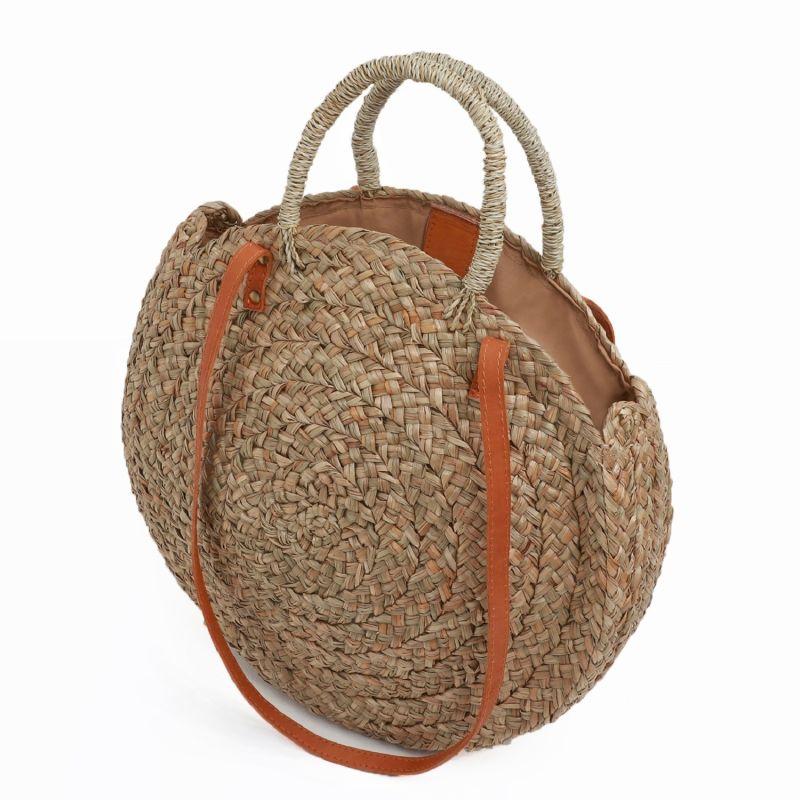 Corfu Round Basket Bag image