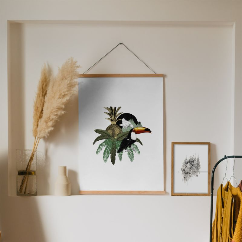 Toucan Jungle - Fine Art Print image