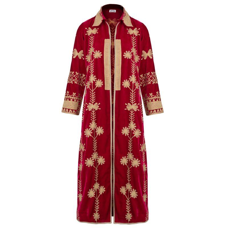 Fuchsia Coat Dress image