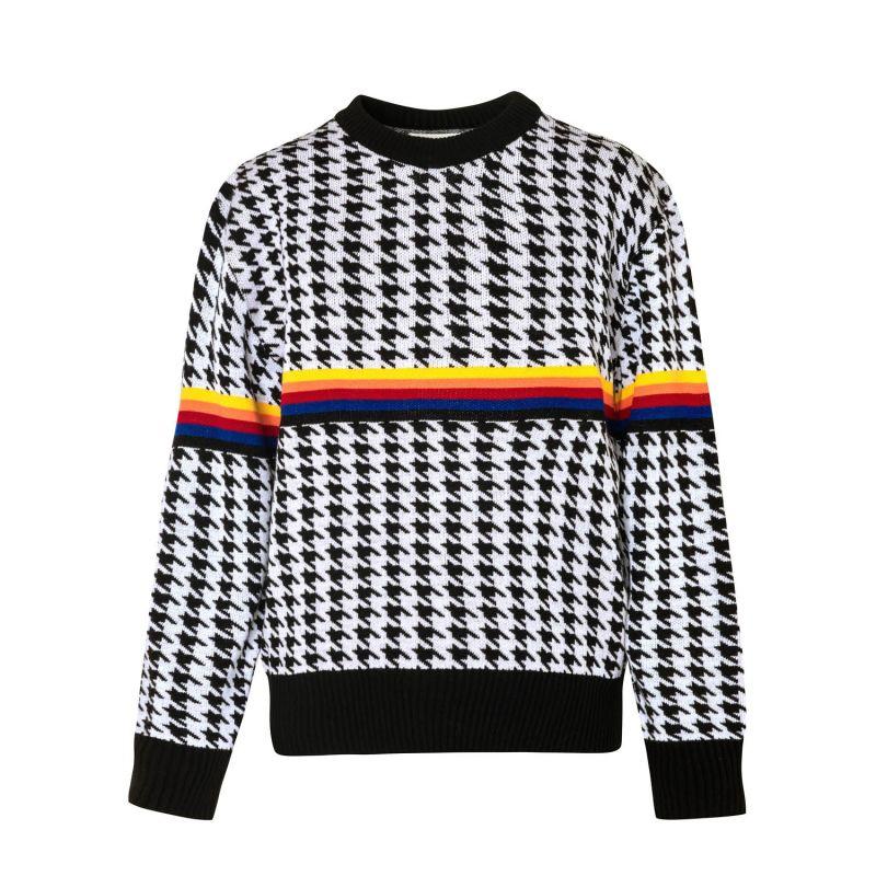 Black & White Knitwear Iris Milk Sweater image