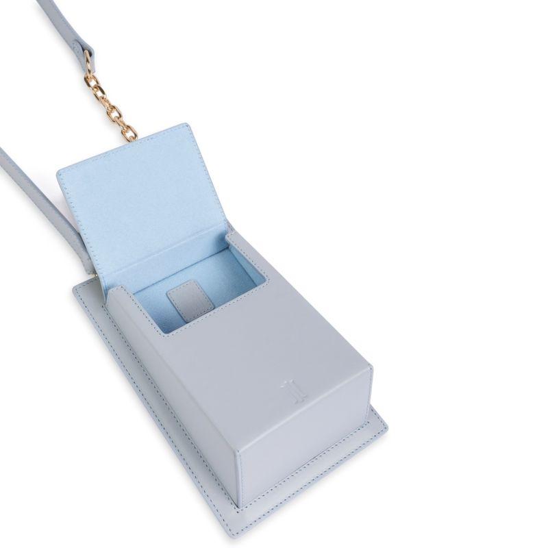 Pocket Crossbody Bag In Ice Blue image