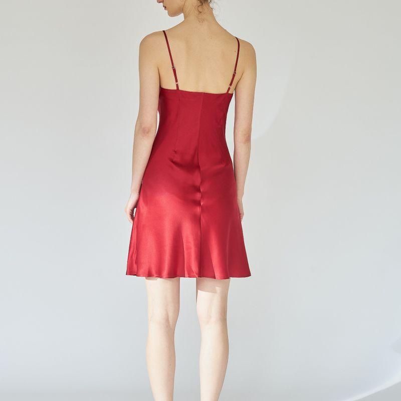Ballerina Silk Dress - Red image
