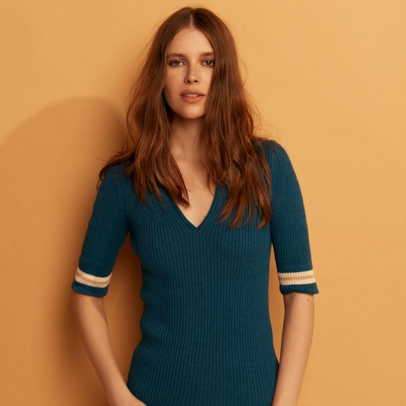 Polo T-Shirt Blue image