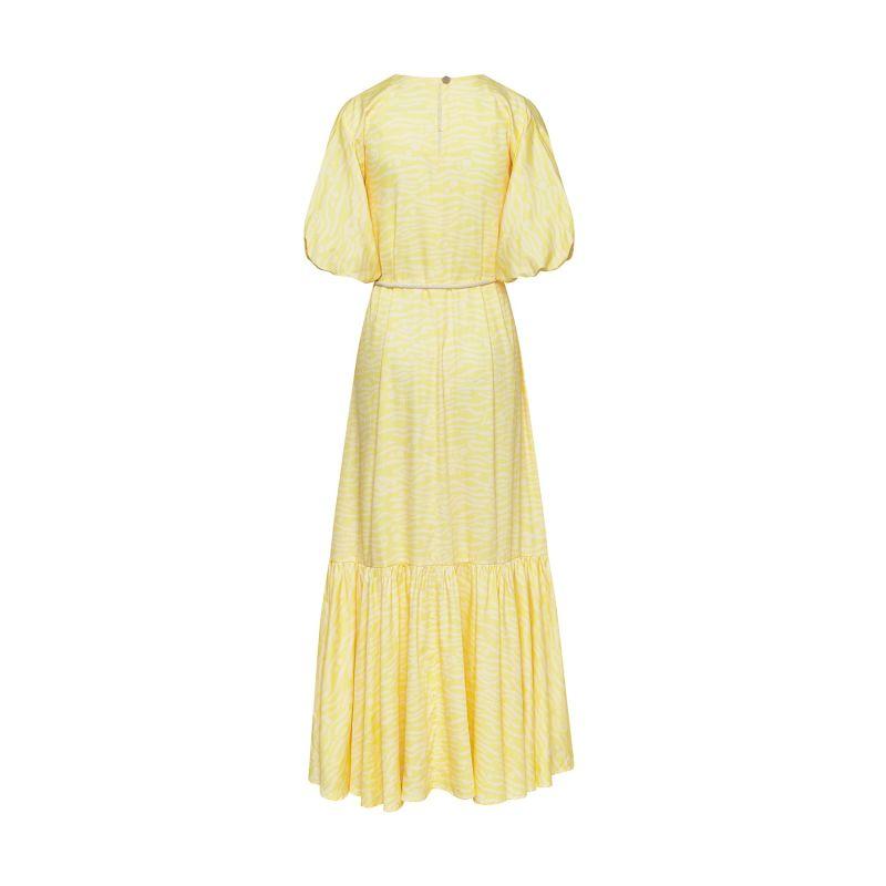 Voluminous Organic Cotton Maxi Dress image