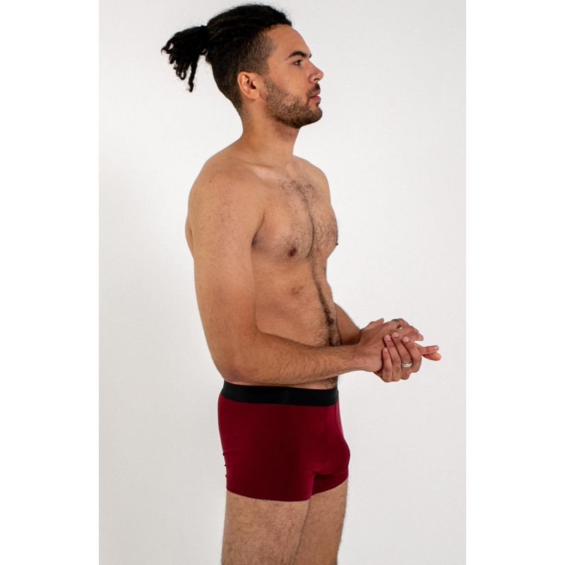Men's Jersey Boxer Brief - Red image