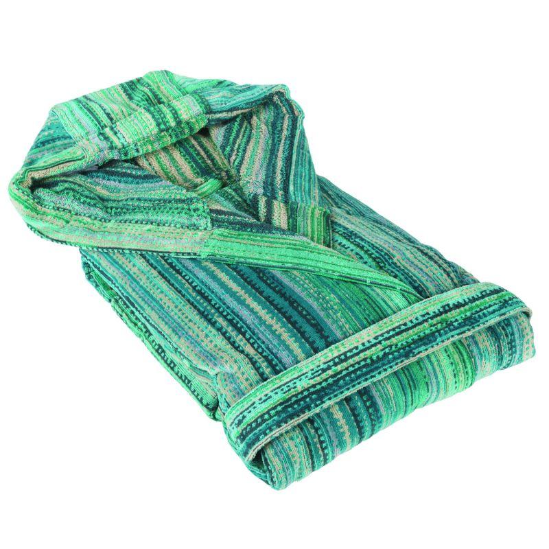 Green Grass Hooded Bathrobe image