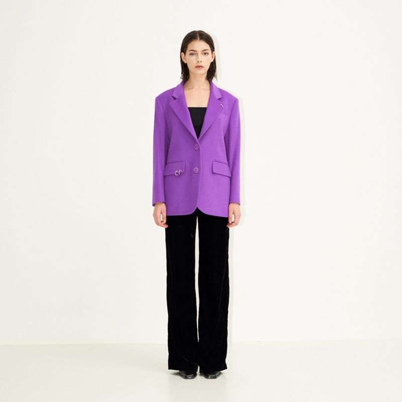 Back To Classic Tailored Jacket Pop Purple image