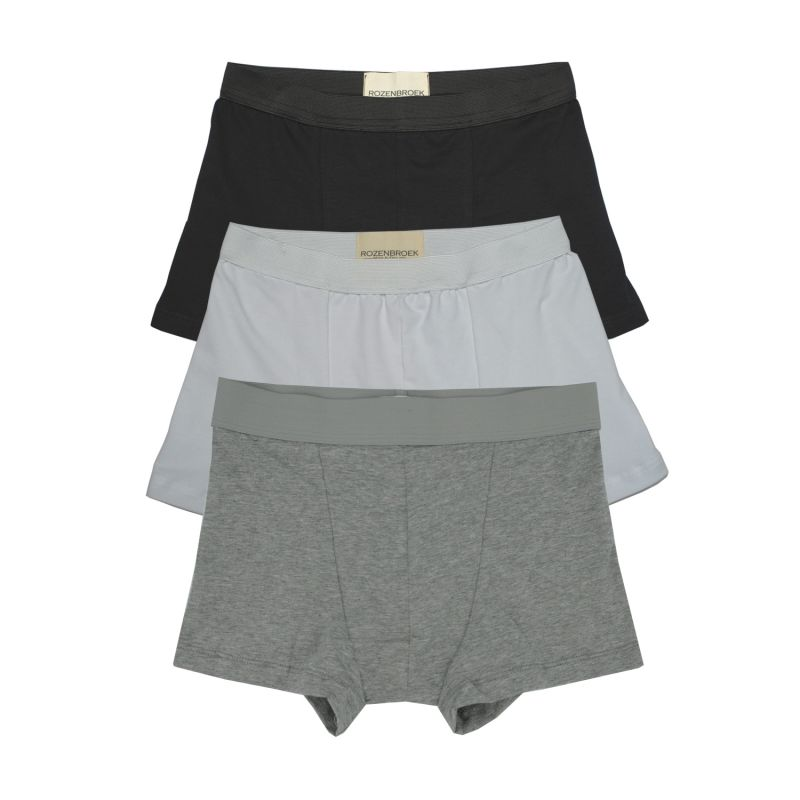 Mixed Organic Bamboo Jersey Trunk - Pack Of 3 image