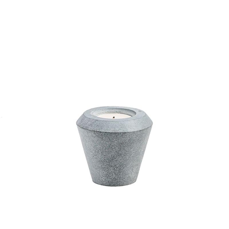 Cone Of Stone Candleholder image